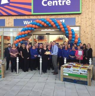 Sheena Dunsmore from the Kidney Kids Charity was B&M's VIP guest at the opening of its new store in Stenhousemuir.