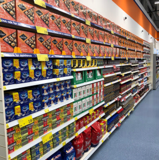 B&M's new store in Whitchurch stocks a great range of fantastic everyday essential groceries, including tea, coffee and biscuits.