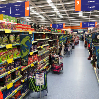 Take a look at B&M's spooky new Halloween range! Available now at its newest store in Whitchurch, Shropshire.