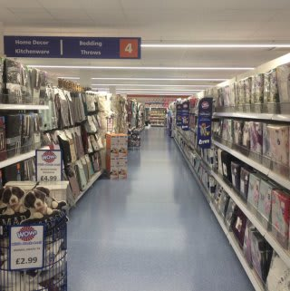 Inside Bury's new B&M store located at Mill Gate Shopping Centre.