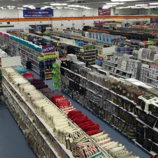 A first glimpse inside the brand new B&M Linlithgow Home Store