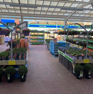 B&M's brand new store in Warrington boasts an extensive Garden Centre range; everything from fencing and aggregate, to planters and sheds.