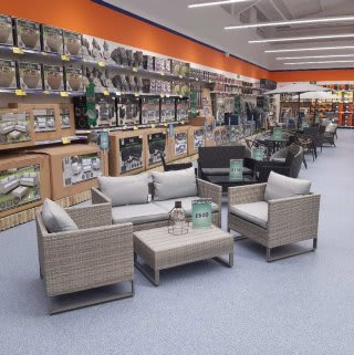 B&M's brand new store in Warrington stocks a huge Garden range; everything from garden furniture and solar lighting to decorative ornaments, planters, tools and much more!