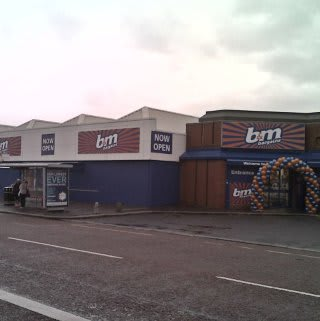 The new B&M Bargains store on Cregagh Road, Belfast.