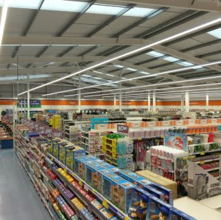 A first glimpse inside B&M's recently refurbished store in Belper, located on Chapel Street