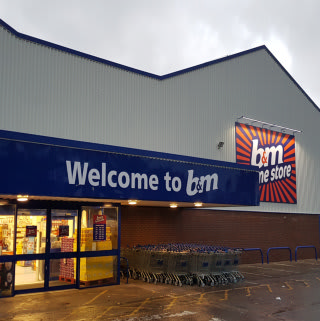 B&M's Shrewsbury store re-opened even bigger and better after a few weeks of renovation.