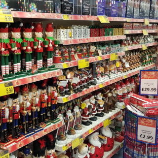 B&M's Shrewsbury store has plenty to offer customers, including a glittering range of gorgeous Christmas decorations.
