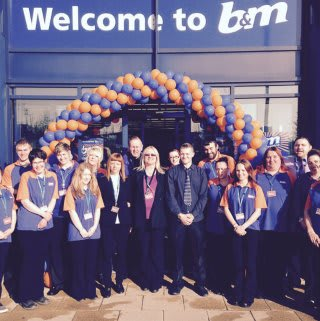 Norwich Riverside Retail Park and the new team.