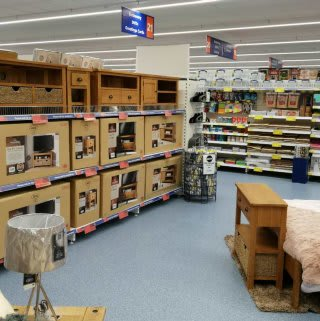 B&M's brand newly refurbished store in Blackpool (Vicarage Lane) stocks a fine range of quality furniture, in a selection of materials, styles and colours!