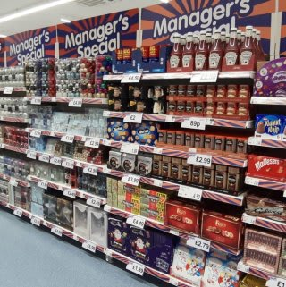 You'll find the full selection of this month's Managers Specials at B&M's newly refurbished Home Store in Derby.