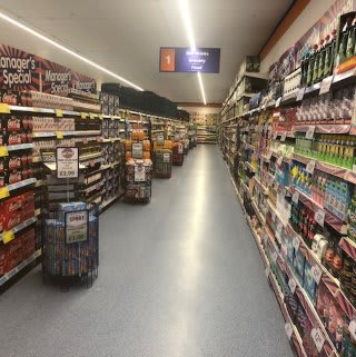 There's a full range of groceries in B&M's newly refurbished store at Ringway in Preston.