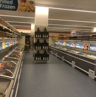 Freezers have been added to B&M's newly refurbished store at Ringway in Preston.