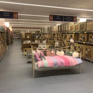 Browse the huge furniture range in B&M's newly refurbished store at Ringway in Preston.