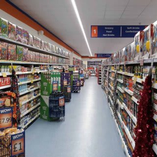You'll find a huge range of everyday grocery essentials at B&M's newly refurbished Home Store in Hereford.