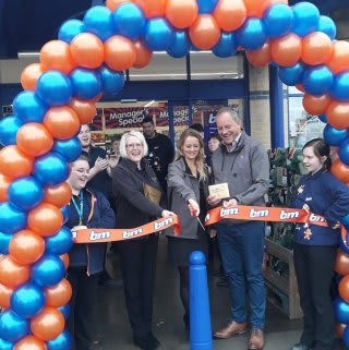 Store staff at B&M's refurbished store in Hereford were delighted to welcome local charities The Little Princess Trust and The Ely Memorial Fund. The charity received donations of B&M vouchers for taking part in B&M's special day, and as a thank your for their hard work and dedication in the community.