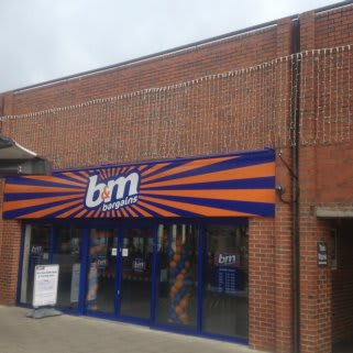 B&M's brand new Bargains Store at the Vancouver Centre, King's Lynn.