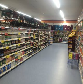 A first glimpse inside B&M's brand new Bargains Store in King's Lynn, located at the Vancouver Centre.