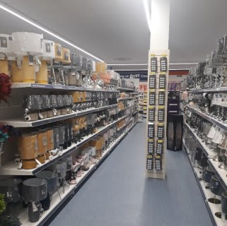 B&M's store in Coventry stocks a charming range of home decor, including table lamps, light pendants and much more.
