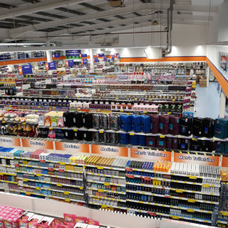 A first glimpse at B&M's newest store, located at Hathaway Retail Park, Chippenham.