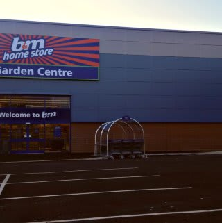 B&M Chadderton's new store, a new build unit at Gateway Retail Park.
