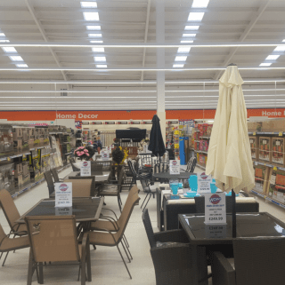 A first glimpse inside the new B&M Nottingham store at the Castle Retail Park