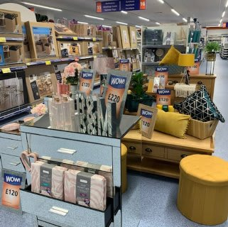 B&M's brand new store in Hunslet stocks a huge range of quality furniture, everything from wardrobes and beds to coffee tables and dining sets.