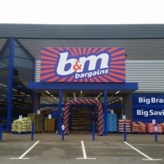 B&M's brand new Bargains Store in Peterborough, located at Boongate Retail Park.