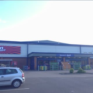 B&M Home Store & Garden Centre in Old Tiffield Road, Towcester