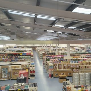 A first glimpse at the brand new B&M Inverness Home Store & Garden Centre, Telford Retail Park
