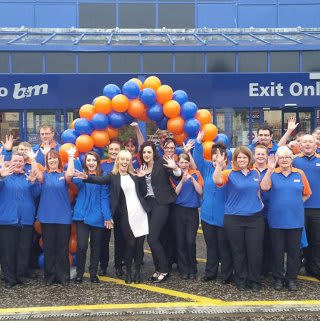 B&M Dundee Store Opening and New Team.