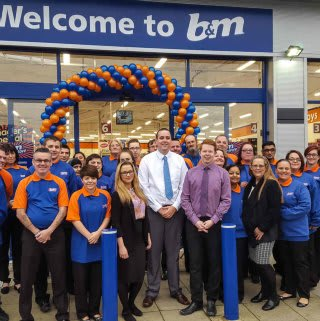 The Crawley store team.