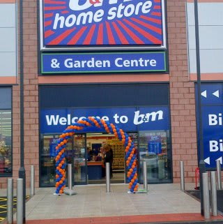 Hyndburn store entrance.
