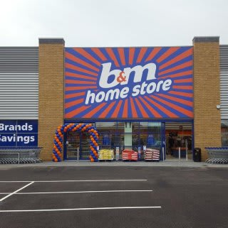 B&M's brand new Home Store in Slough, located on Montrose Avenue.