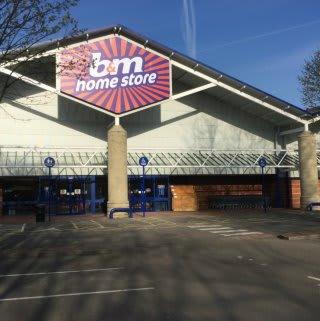 B&M's brand new Home Store & Garden Centre located in Neath, South Wales.