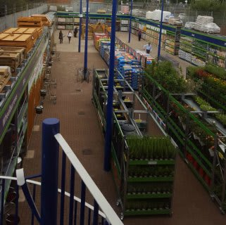 B&M Burnage's new Garden Centre, with lines available all year round.