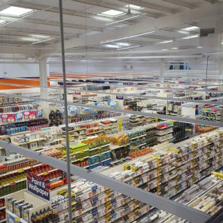 A first glimpse inside the brand new B&M Home Store in Burnage.