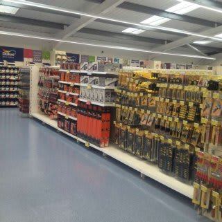 A first glimpse inside B&M Pembroke Dock on opening day.