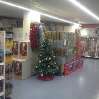 A sneak peek of the Christmas display featured at B&M Ipswich - Eastgate Shopping Centre
