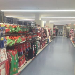 The clothing on offer at B&M Ipswich - Eastgate Shopping Centre.