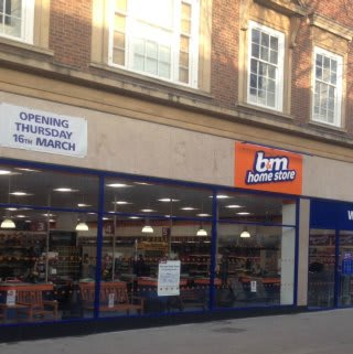The new B&M Peterborough on opening day