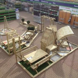 The new Garden Centre at B&M Teesbay