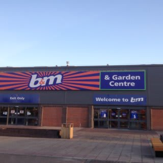 The new B&M Teesbay on opening day