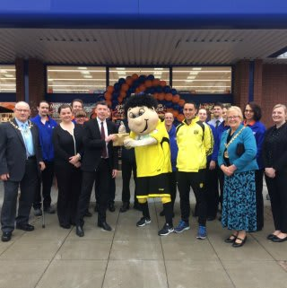 Representatives from Burton Albion Community Trust were in attendance and received £250 worth of B&M vouchers.