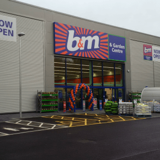 B&M's latest Bargains Store & Garden Centre in Brighouse, located at Baliff Bridge Retail Development (Bradford Road).