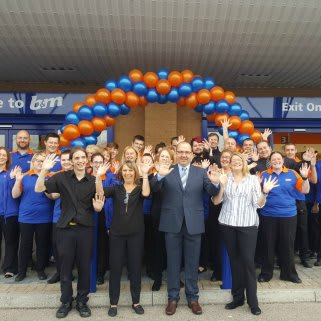 B&M's new store team at Baglan Bay, Port Talbot are delighted to get their doors open.