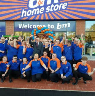 B&M Great Homer Street's store team are delighted to open their doors to their first customers.