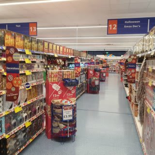 B&M have an extensive Christmas range, as shown in the retailer's brand new store on Great Homer Street, Liverpool.