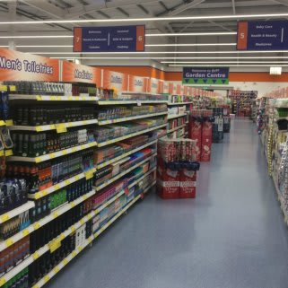 The Health & Beauty section at Cross Hands Business Park, Llanelli is ready for its first customers.