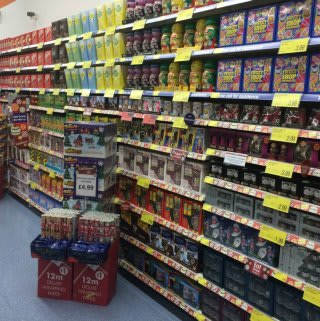 B&M stock a huge range of confectionery for Christmas at the new Llanelli store.