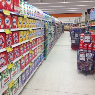 B&M Skegness stocks a wide range fo cleaning products from its location on Burgh Road Retail Park.